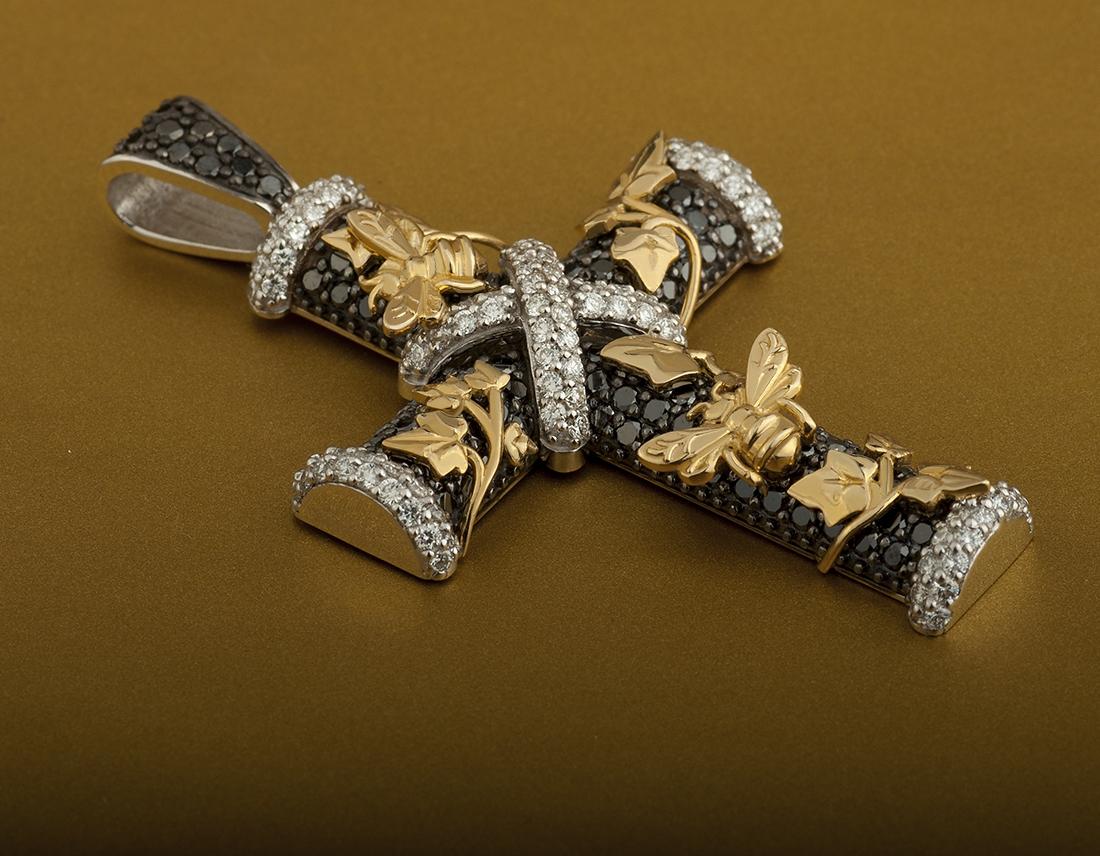 Купить нательный крестик из золота
