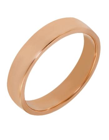 """Золотое обручальное кольцо 585 пробы (15-000075677) """"Ювелирная карта"""""""