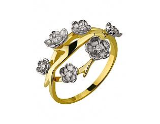 Золотое кольцо с бриллиантами 5б_к-119 фотография