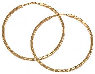 Золоті сережки  1-с-72 фотографія