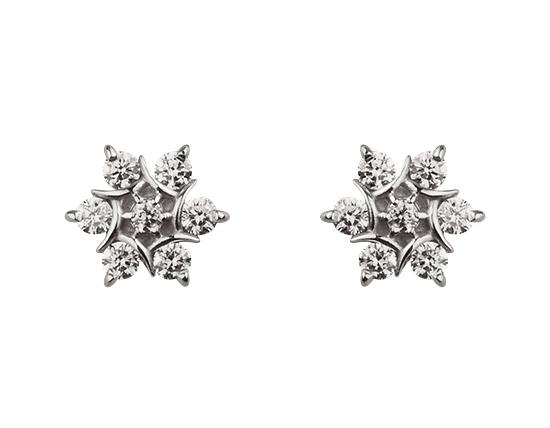 Золоті сережки з діамантами 2б_с-064 фотографія 1