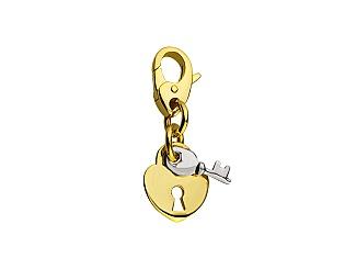 Золотий кулон  9б_п-145 фотографія