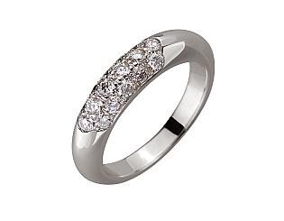 Золотое  кольцо с бриллиантами 01-17380305 фотография