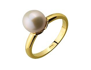 Золотое кольцо с жемчугом 3б_к-089 фотография