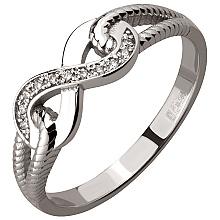 Золота каблучка з діамантом (2б_к-229)