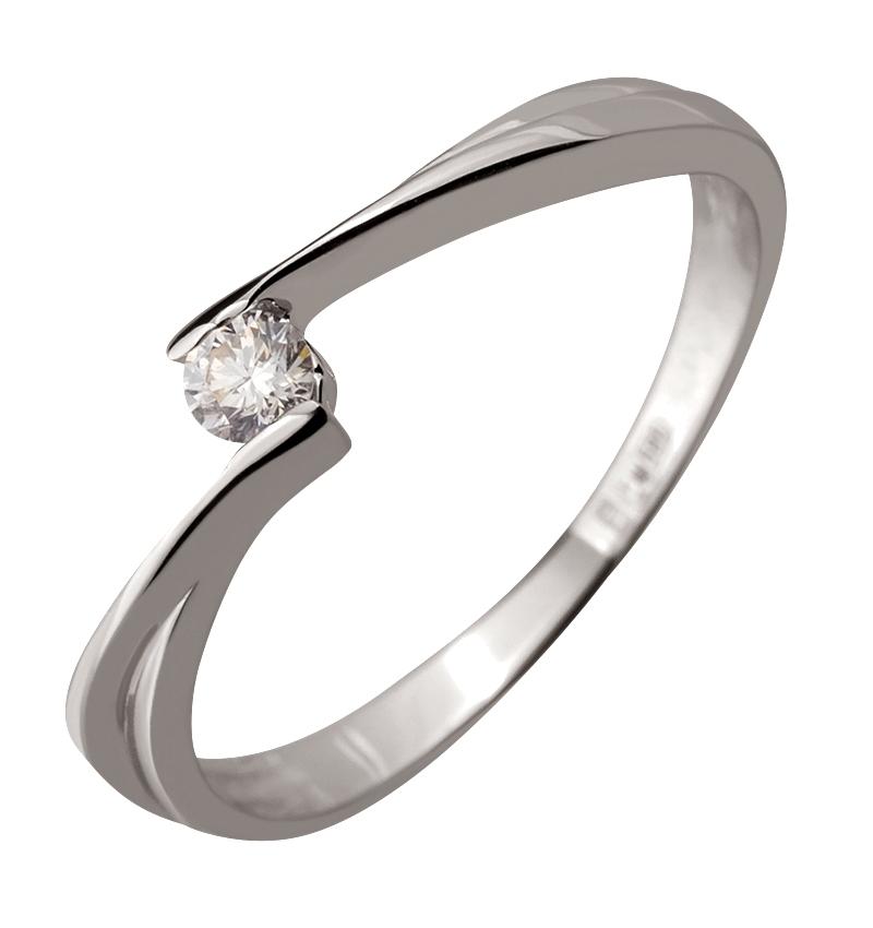 12b8ace2f786b9 Золота каблучка з діамантом (2к-079/169): купити за ціною 5750.00 ...