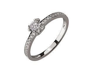Золотое кольцо с бриллиантами 01-17479208 фотография