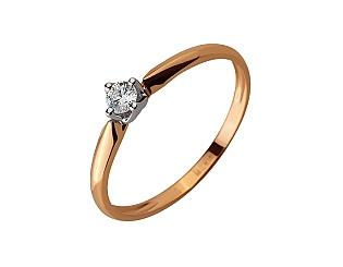 Золотое кольцо с бриллиантами 01-17620808 фотография