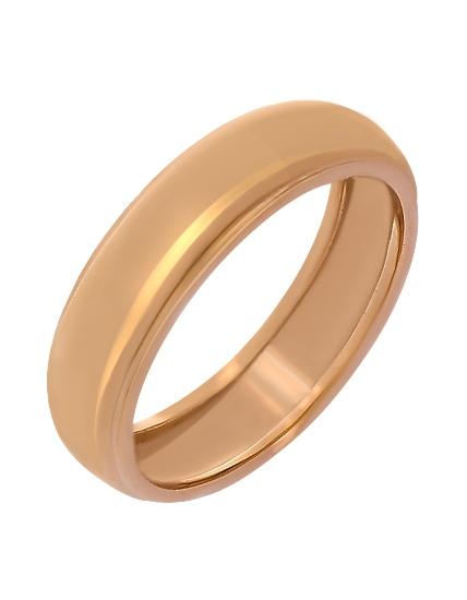 """Золотое обручальное кольцо 585 пробы (15-000053487) """"Ювелирная карта"""""""