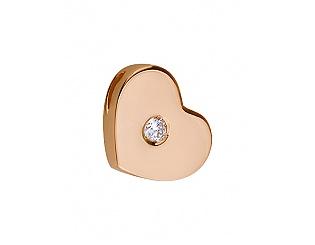 Золотий кулон з діамантом 1п-186 фотографія