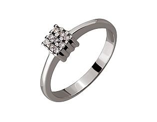 Золотое кольцо с бриллиантом 01-17534114 фотография