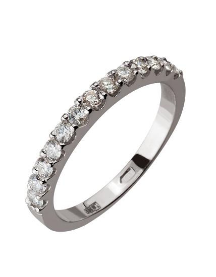 """Золотое кольцо 585 пробы с бриллиантами (15-000086316) """"Ювелирная карта"""""""