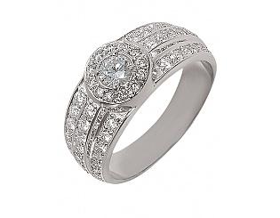 Золотое кольцо с бриллиантами 2б_к-001 фотография