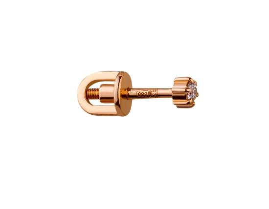 Золоті сережки  01-17445817 фотографія