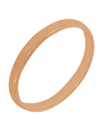 """Золотое обручальное кольцо 585 пробы (15-000064758) """"Ювелирная карта"""""""