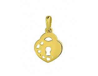 Золотий кулон  3п-145 фотографія