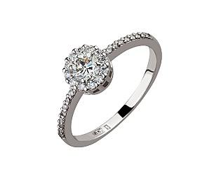 Золотое кольцо с бриллиантами 2б_к-141 фотография