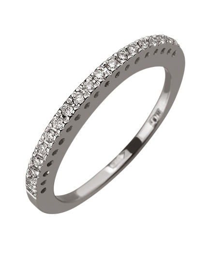 Золотое  кольцо с бриллиантом 01-17599224 фотография 1
