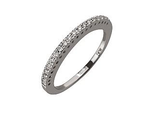 Золотое  кольцо с бриллиантом 01-17599224 фотография
