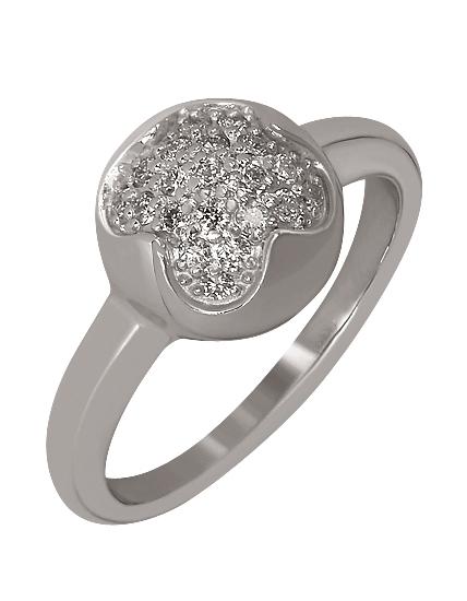 Золотое кольцо с бриллиантами 2к-267 фотография