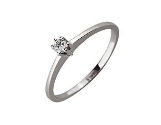 Золотое кольцо с бриллиантом 01-17578929 фотография