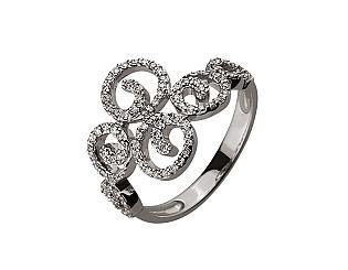 Золотое кольцо с бриллиантом 01-17593029 фотография