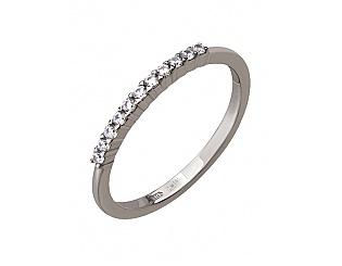 Золотое кольцо с цирконием куб. 2б_к-061 фотография