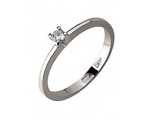 Золотое кольцо с бриллиантом 2б_к-138 фотография