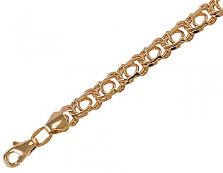 Золотой браслет  1-б-7-10 фотография