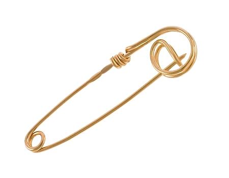 Золотая булавка 585 пробы (01-16525942)