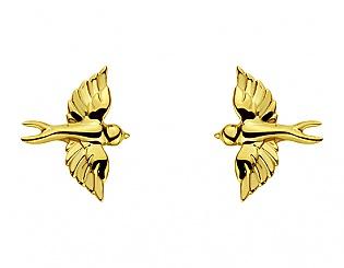 Золоті сережки  3б_с-106 фотографія