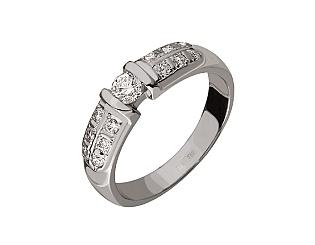 Золотое кольцо с бриллиантами 2-к-1220 фотография