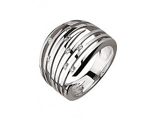 Золотое кольцо с бриллиантом 2б_к-136 фотография