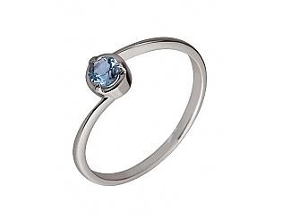Золотое кольцо с топазами 2б_к-014 фотография