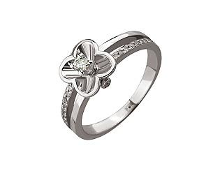 Золотое кольцо с бриллиантами 01-17267237 фотография