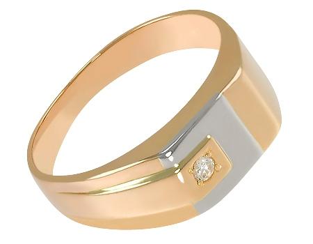 золотое кольцо с розовым кварцем и бриллиантами