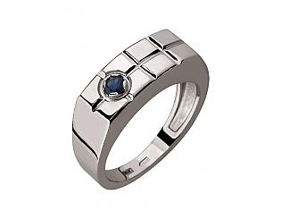 Золотое кольцо с сапфирами 2к-263 фотография