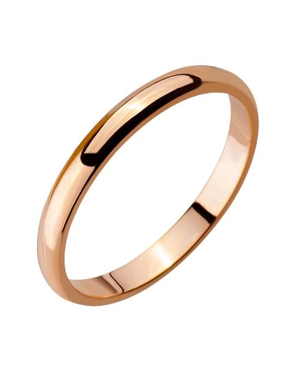 """Золотое обручальное кольцо 585 пробы (15-000086429) """"Ювелирная карта"""""""