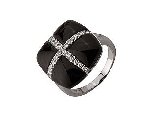 Золотое кольцо с бриллиантом 01-17676141 фотография