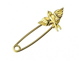 Золота шпилька  3бл-018 фотографія