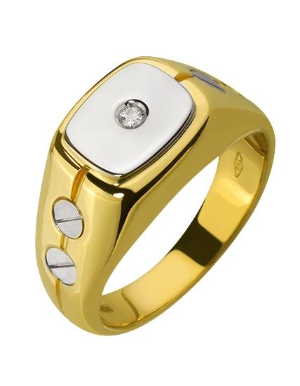 Золотой перстень 750 пробы (01-16128042)
