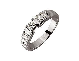 Золотое  кольцо с бриллиантами 01-17434542 фотография