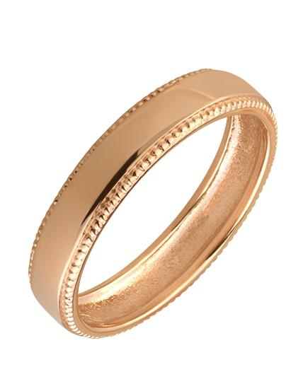 """Золотое обручальное кольцо 585 пробы (15-000074456) """"Ювелирная карта"""""""
