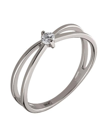 Золотое кольцо с бриллиантами 2к-002 фотография