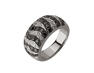 Золотое кольцо с бриллиантами 01-17624643 фотография
