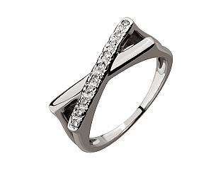 Золота каблучка з діамантом 03-609-00044 фотографія