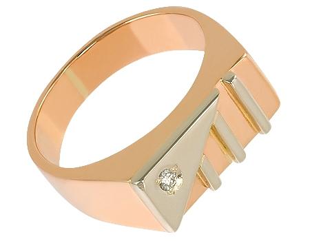 Подвеска ключик золото