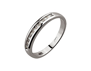 Золотое кольцо с бриллиантом 2к-183 фотография