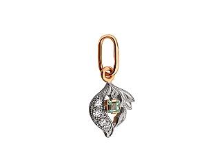Кулон з діамантами 03-609-00046 фотографія