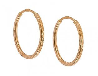 Золоті сережки  1-с-333 фотографія